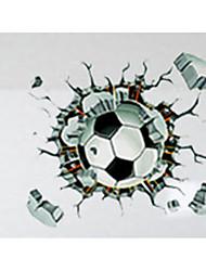 abordables -3D Stickers muraux Stickers avion Stickers muraux décoratifs,PVC Matériel Amovible / Repositionable Décoration d'intérieur Wall Decal