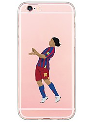 cheap -Sports Stars Pattern TPU Ultra-thin Ranslucent Soft Back Cover for iPhone 6s Plus/6 Plus/ 6s/6/ SE/5s/5