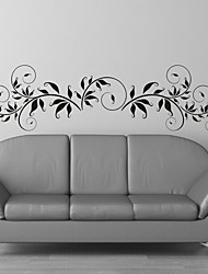 cheap -AYA™ DIY Wall Stickers Wall Decals, Flower Rattan Type PVC Panel Wall Stickers 33*120cm