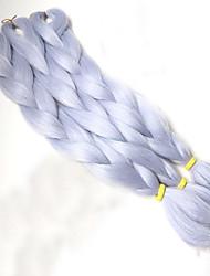 cheap -Box Braids Synthetic Hair 1pc/pack Jumbo Hair Braids