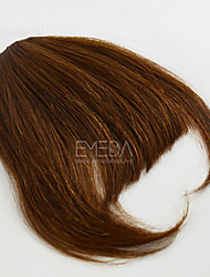 cheap -Lovely Human Bang Hair Clip In Bangs Fringe Extensions 30g/pcs Human Natural Hair Free Part Bang 2 Colors