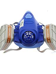 abordables -réservoir à double respirateur pesticides masque de protection anti-poussière