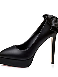 Women's Shoes  Summer Heels / Pointed Toe / Closed Toe Heels Dress / Casual Stiletto Heel Bowknot More Colors Available