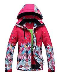 Abbigliamento da neve Giacche da sci/snowboard Per donna Abbigliamento invernale Tessuto sintetico Vestiti invernali Tenere al caldo