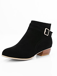 cheap -Women's Boots Fashion Boots / Pointed Toe Suede Party & Evening / Dress / Casual Stiletto Heel Sequin / Zipper