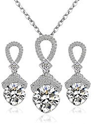 cheap -Women's Jewelry Set Earrings Necklace - Bridal Jewelry Sets For Wedding Party