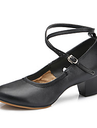 cheap -Dance Shoes Suede / Patent Leather Suede / Patent Leather Latin / Modern Heels Stiletto Heel Practice / IndoorBlack