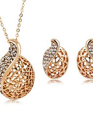 cheap -Women's Jewelry Set - Imitation Diamond Drop Fashion Include Gold / Silver For Daily / Formal / Earrings