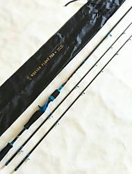 cheap -LI JI Carbon Casting Rod 2.1M  M&ML Lure7-22g  8-16lb Bait Casting / Freshwater Fishing WEEVER FLGH EVA Rod