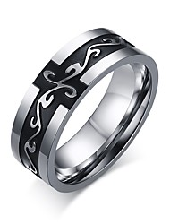 cheap -Men's Popular Personality Retro Titanium Steel Dragon Pattern Ring Christmas Gifts