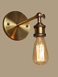 Estilo Mini Lâmpadas de Parede,Tradicional/Clássico E26/E27 Metal