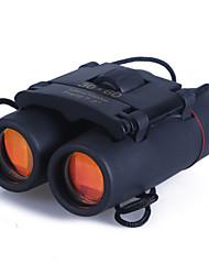 Недорогие -30 X 60 mm Бинокль Высокое разрешение Портативные Большой угол BAK4 Отдых и Туризм Охота Восхождение Ночное видение пластик