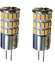 G4 Luci LED Bi-pin T 48 SMD 3014 300-450 lm Bianco caldo Luce fredda Bianco 3000-6000 K Decorativo DC 12 V