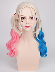 Halloween Wig Movie Women's Long Curly Bunches Anime Cosplay Wigs Adult Wig Costumes Cosplay