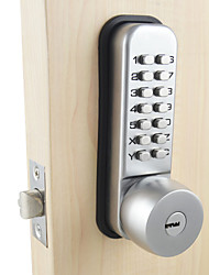 cheap -Mechanical Door Lock With Combination Digital Code Password Entry Lock For Home Security with 2 Keys