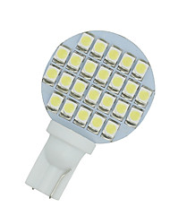 cheap -10 X Cool White T10 Wedge 24-SMD RV Landscaping LED Light bulbs W5W 921 168 194