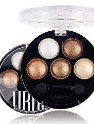 cheap -5 Colors UBUB Professional Baked 3in1 Matte&Glitter&Shimmer Metallic Color Eye Shadow Powder Cosmetic Makeup Palette