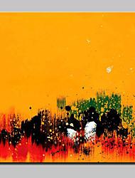 Недорогие -ручная роспись современного абстрактного холста масляной живописи настенного искусства для домашнего декора с растянутой рамой, готовой повесить