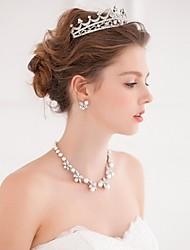 Недорогие -сплав тиары головные уборы венки волосы инструмент головной убор элегантный стиль