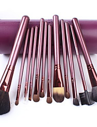13Pcs Barrel Packaging Makeup Brush Sets Wool Horse Hair Makeup Brush Set