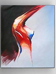 pittura a olio dipinta a mano dipinto di arte della parete della stanza da parati con la struttura allungata pronta a appendere