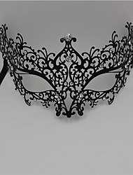 Women's Metal Laser Cut Masquerade Venetian Party Mask2004A1