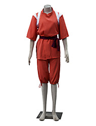 cheap -Inspired by Spirited Away Chihiro Ogino Anime Cosplay Costumes Cosplay Suits Solid Short Sleeves Top Yukata Shorts For Women's