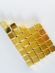 Magnet Toys Building Blocks 50 Pieces 5*5*5mm Toys Magnet Square Gift