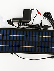 cheap -ZDM® 3.5W 12V Car Charger power adapter Output Monocrystalline Silicon Solar Panel(DC12-18V)