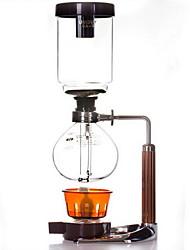 vetro sifone pentola 5 dosi di caffè mano bricco di caffè