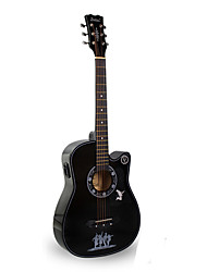 Недорогие -Гитара циновка Струнный музыкальный инструмент Стринги
