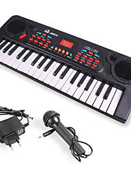 cheap -Electronic Keyboard Piano With a Microphone Fun Girls' Boys' Gift