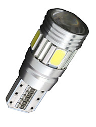 10x Canbus Wedge T10 White 192 168 194 W5W 6 5630 SMD LED Light Lamp Bulb Error Free 12V