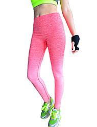 Damer Ensfarvet Legging,Bomuld Polyester