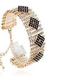povoljno -Žene Tenis Narukvice Moda Legura Circle Shape Jewelry Vjenčanje Nakit odjeće