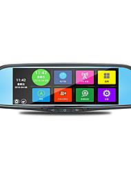 Недорогие -специальный 7-дюймовый автомобиль зеркало заднего вида тахограф Android голосовой навигации reaview WiFi