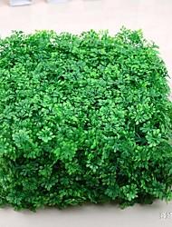 1 1 Une succursale Polyester / Plastique Plantes / Autres Arbre de Noël Fleurs artificielles 9.841inch/25cm*9.841inch/25cm