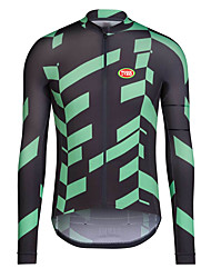 Sports Bike/Cycling Tops Men's Long Sleeve Antistatic / Windproof / Reduces Chafing / Held-In Sensation / Thermal /