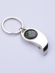 cheap -Bottle Openers Others Compasses Directional Multi Function Hiking Camping Travel Outdoor Alloy Metal cm pcs