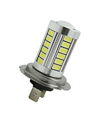 cheap -2Pcs Super Bright H7 33 SMD 5630 LED Car Fog Headlight Driving Light Bulb White 12-24V