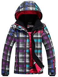 Abbigliamento da neve Giacche da sci/snowboard Per donna Abbigliamento invernale Tessuto sintetico Vestiti invernaliImpermeabile / Tenere