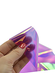 cheap -1pcs 100*4cm Nail Art DIY Glitter Shinning Beautiful Color Transfer Foil Stickers BL17