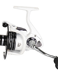 cheap -Spinning Reels 5.2:1 Gear Ratio+13 Ball Bearings Exchangable Bait Casting Ice Fishing Spinning Freshwater Fishing General Fishing Lure