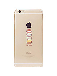iPhone 7 Plus Delicious Food Macaron Candy Pink Color Dessert Pattern TPU Soft Case for iPhone 6s 6 Plus