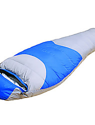 Sleeping Bag Mummy Bag Single -15 Duck Down 1500g 210X80 Hiking / Camping KEEP WARM / Compression / Cold Weather TY