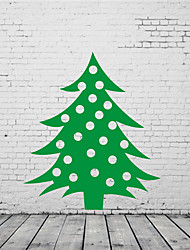 cheap -AYA DIY Wall Stickers Wall Decals Christmas Tree Stickers 56*64cm
