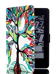 cheap -Colorful Tree Pattern Leather Full Body Case with Stand and Card Slot for Amazon Kindle Paperwhite / Kindle Paperwhite 2