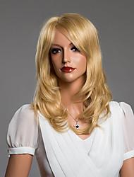 parrucca di capelli umani lunghi ondulati senza cappuccio sweety di 17 pollici