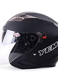Poloviční helma Prodyšná / Bez zamlžování ABS Viz fotografie 33*26*26 Motocyklové helmy