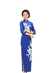Недорогие -Классика Жен. Юбки Платье A-Line Платье карандашом Косплей Длинный